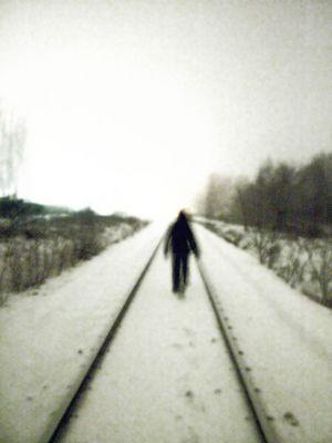...walk alone... - Im Nebel -