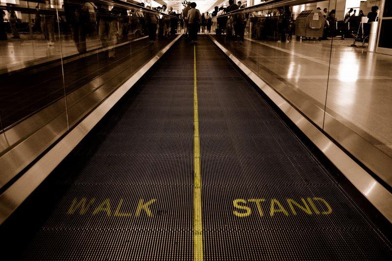 WALK I STAND