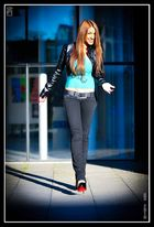 walk like a model...