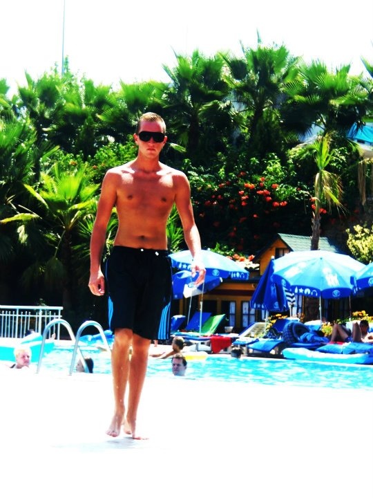 Walk on the Pool