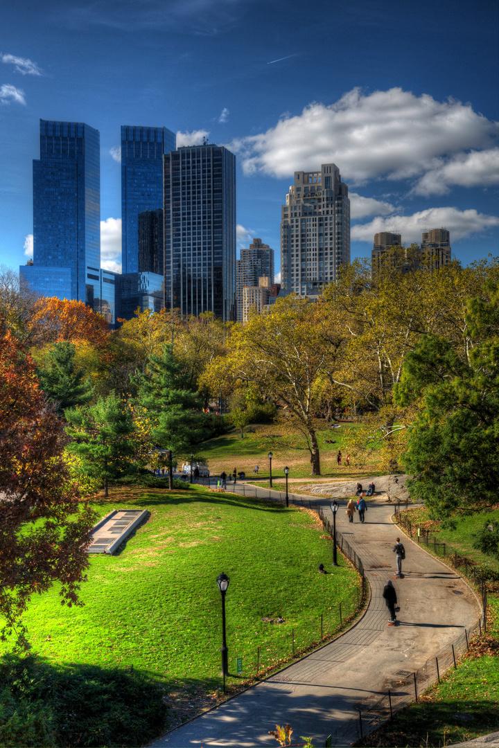 Walk the Central Park
