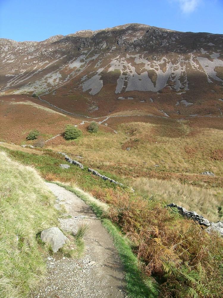 Walk up Cadair Idris in Wales