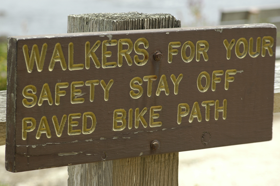 Walkers stay off