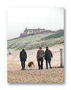 ... walking along the base of the dutch mountians (Cadzand)