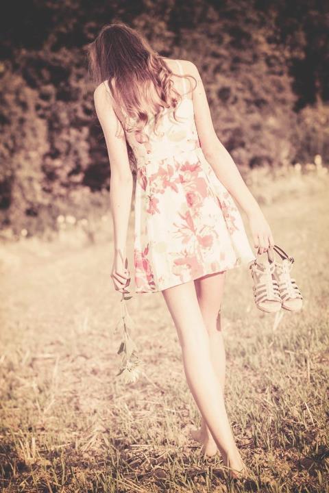 walking away ...