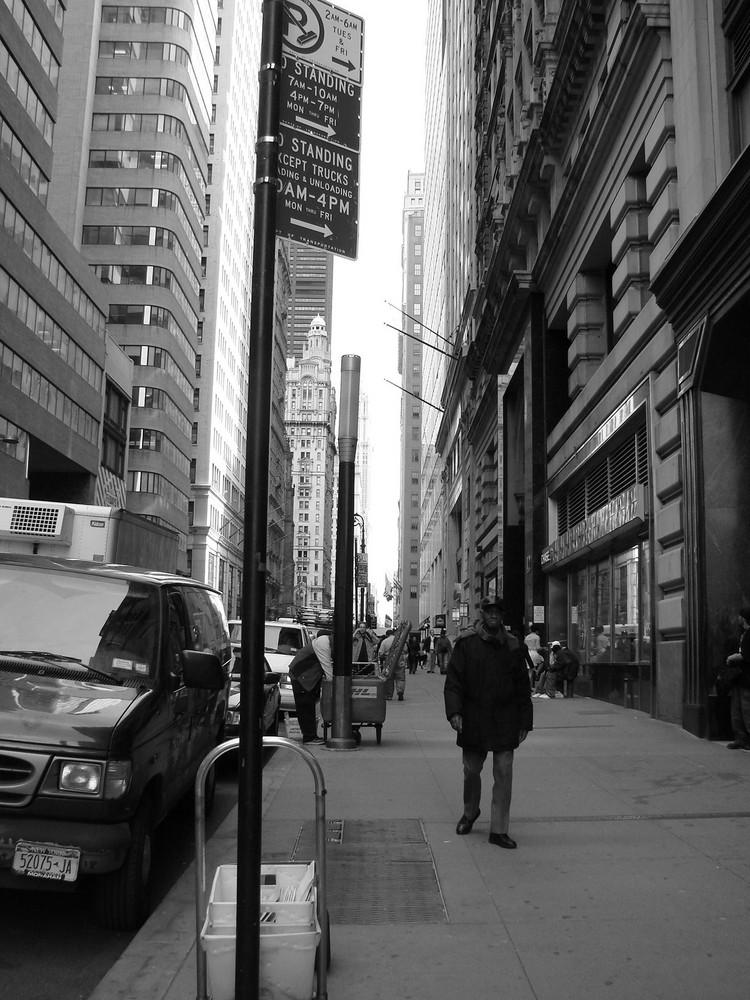 Walking in N-Y