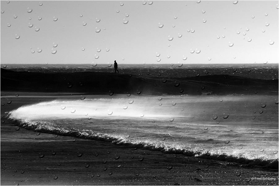 ... walking in the rain