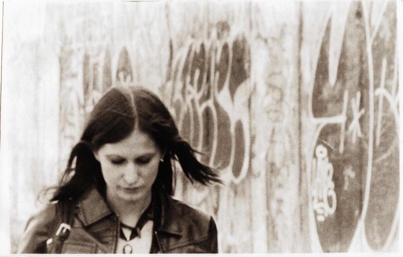 Walking On The Berlin Wall