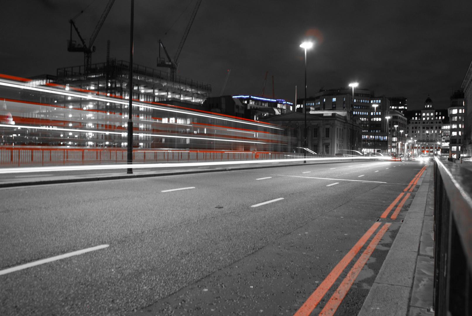 Walking on the London Bridge
