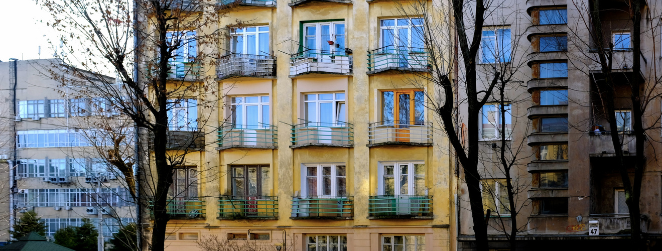 Walking through Lviv