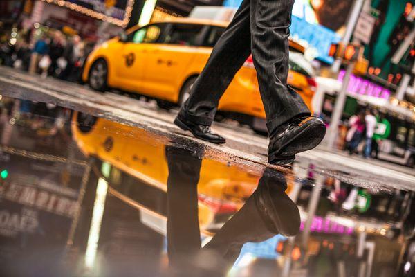 Walking to New York