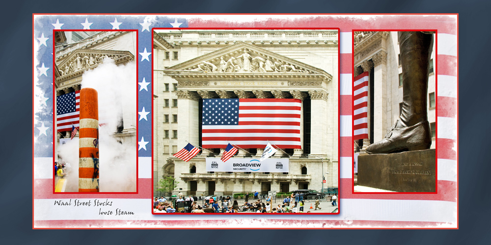 Wall Street Stocks Loose Steam