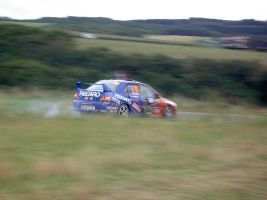 Wallenwein bei der Deutschland - Rallye 2004