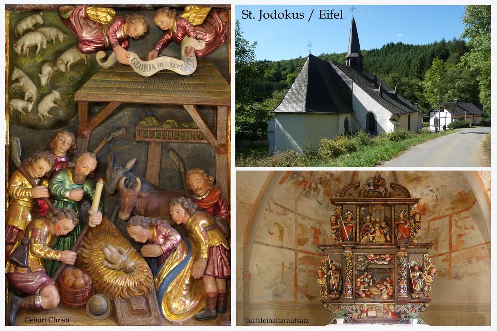 Wallfahrtskapelle St.Jodokus (St.Jost) / Eifel