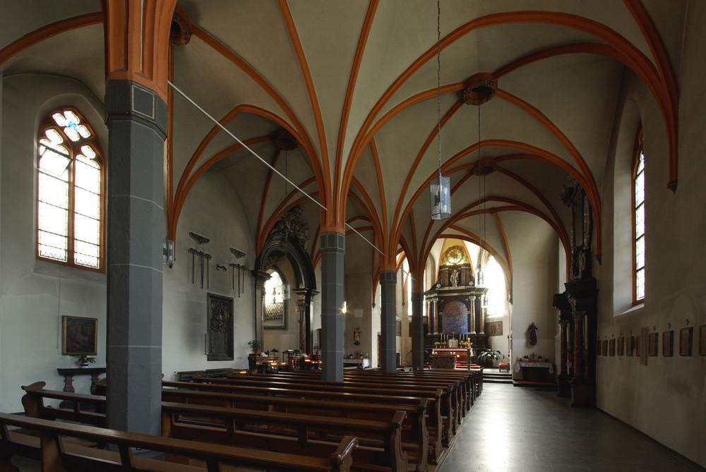 Wallfahrtskirche Bornhofen (Kamp-Bornhofen / Rhein)