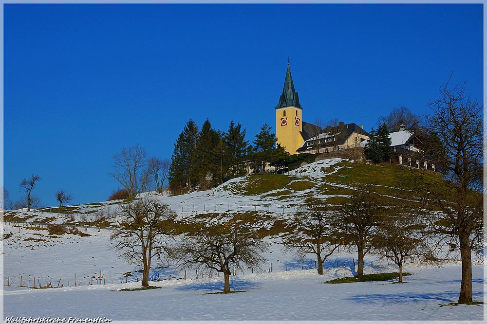 Wallfahrtskirche Frauenstein.....
