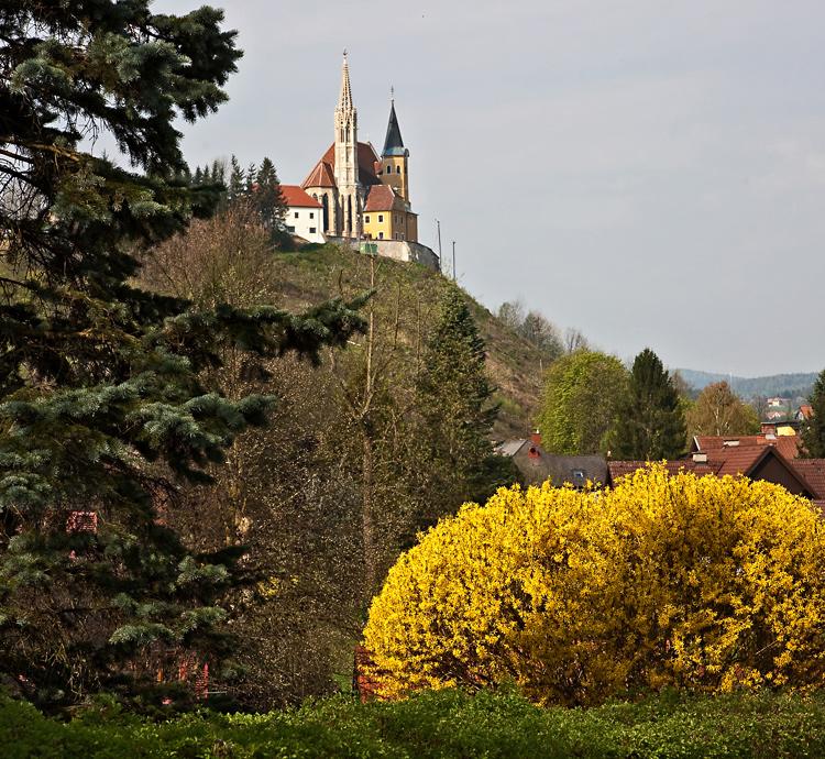 Wallfahrtskirche Judendorf-Straßengel!