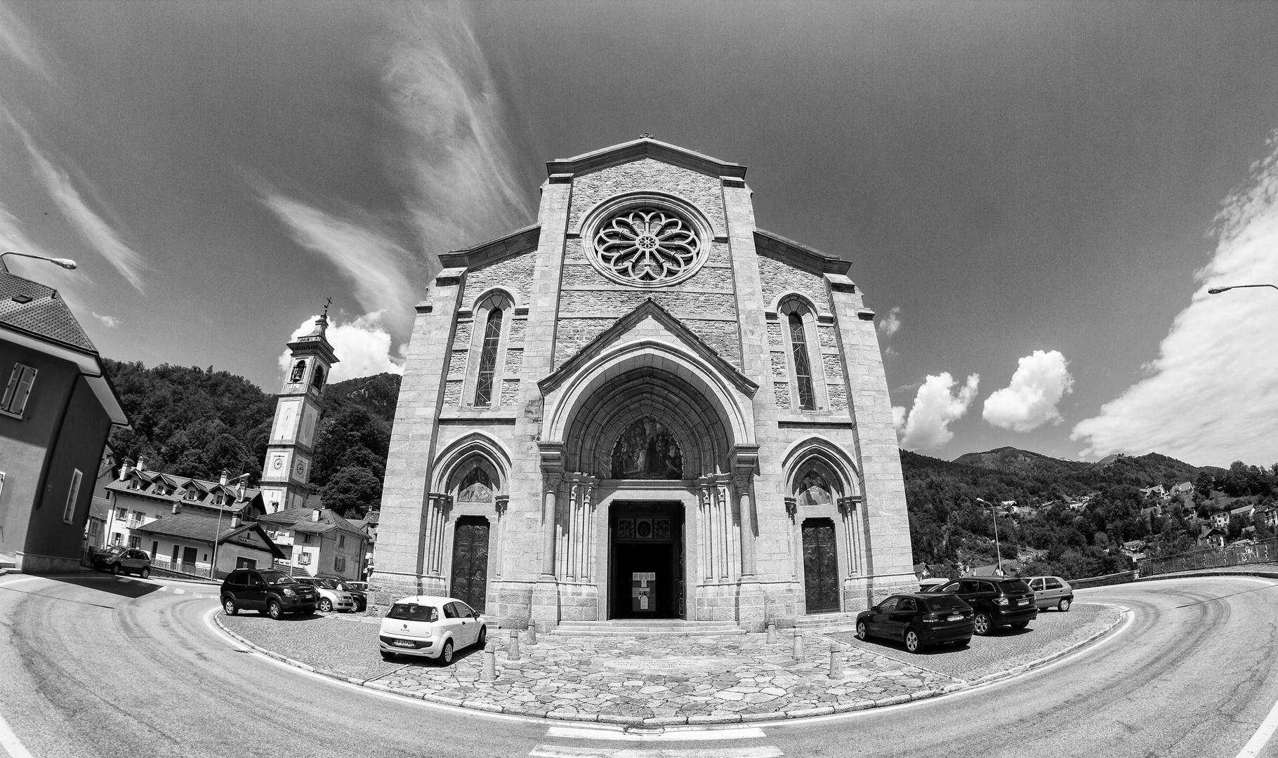 Wallfahrtskirche Madonna del Sangue (SW)