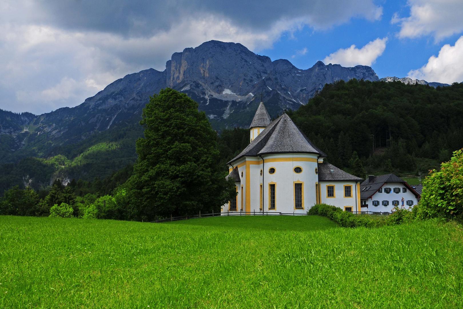 Wallfahrtskirche - Maria Heimsuchung - Ettenberg im Berchtesgadener Land
