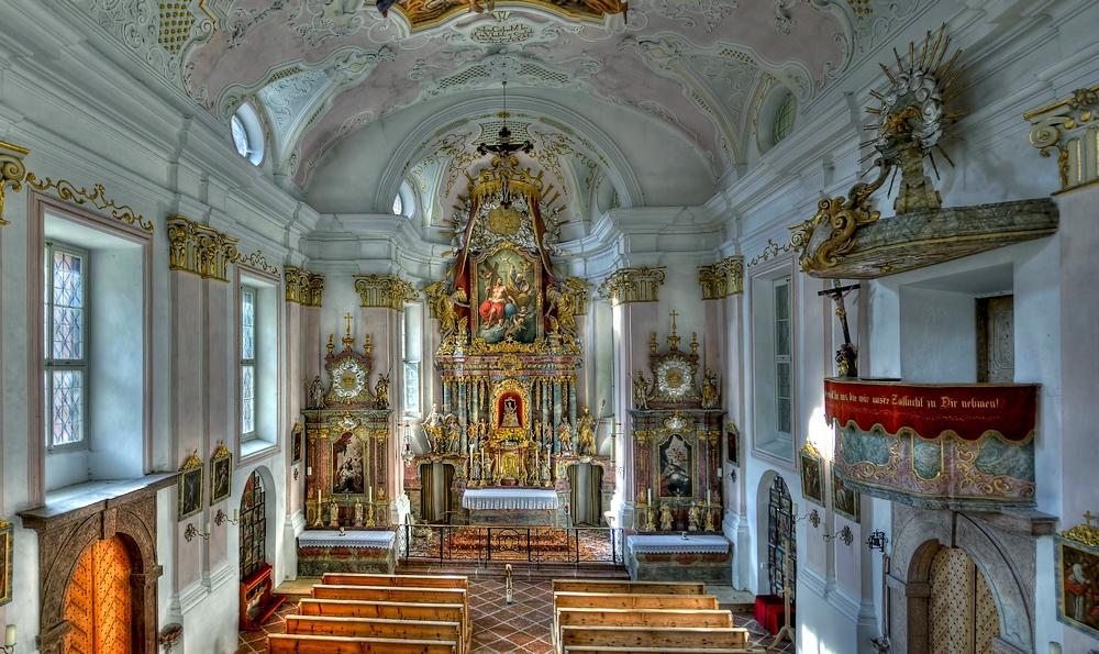 Wallfahrtskirche Maria Kunterweg