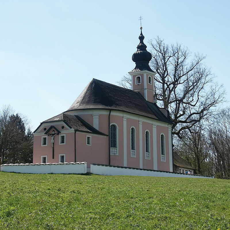Wallfahrtskirche Maria Mühlberg bei Waging
