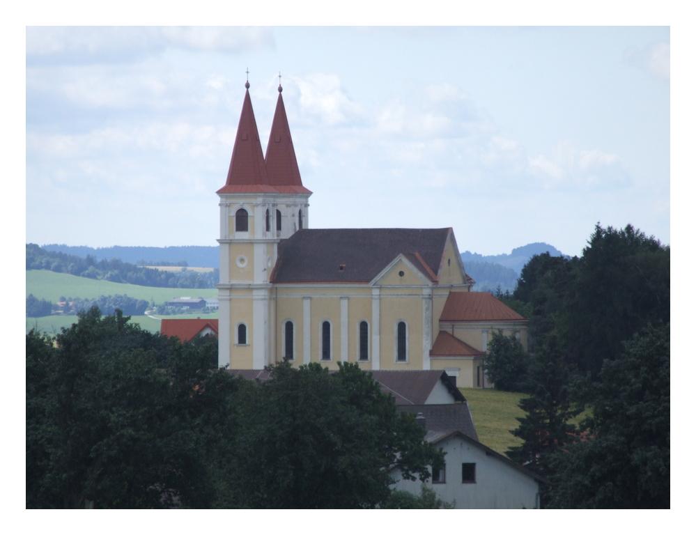 Wallfahrtskirche Maria Schnee!