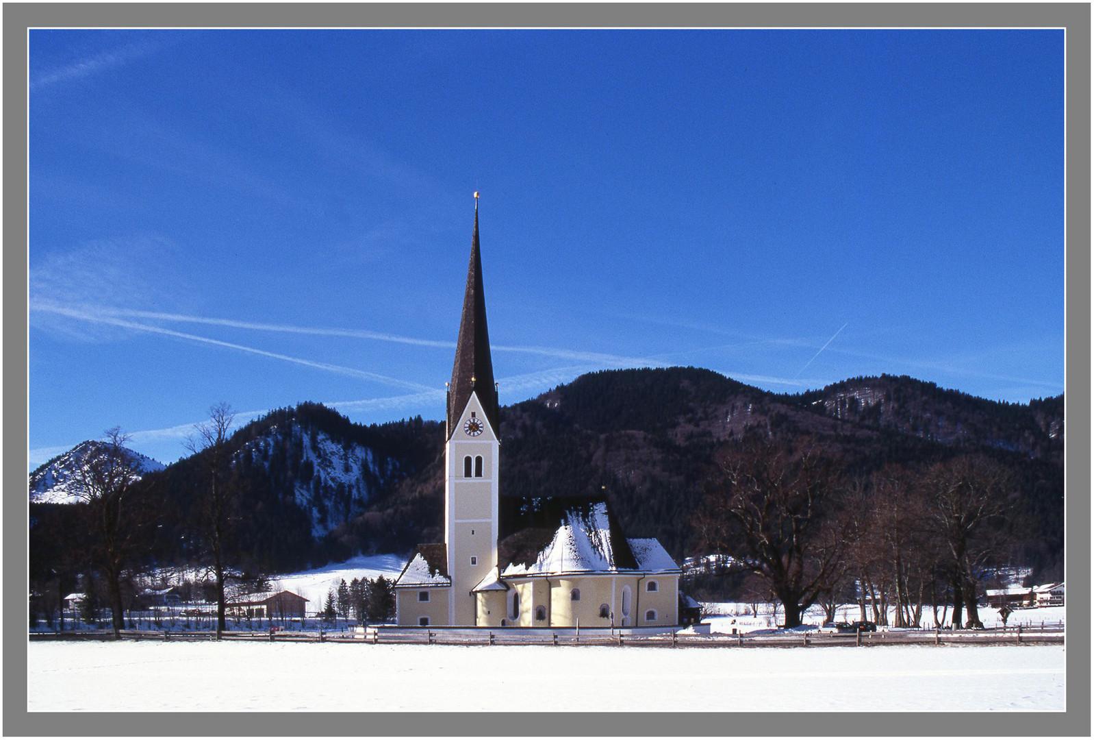 Wallfahrtskirche St.Leonhard am Schliersee
