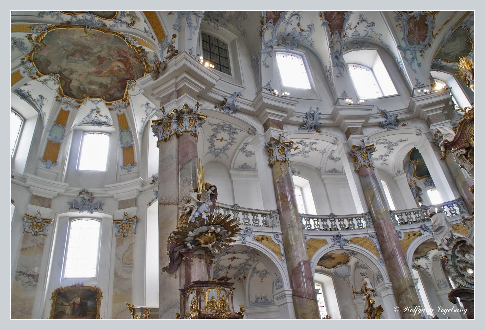 Wallfahrtskirche Vierzehnheiligen in Oberfranken