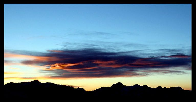 Walliser Morgensonne