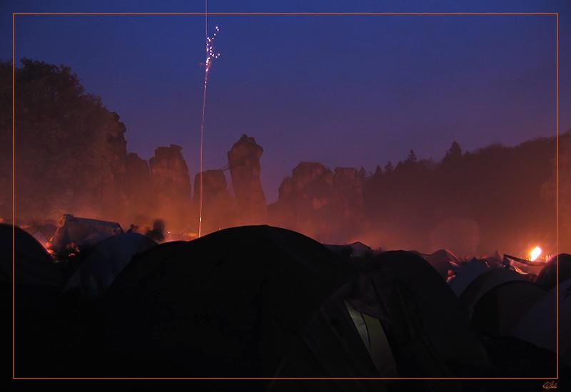 Walpurgisnacht an den Externsteinen