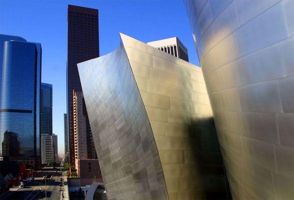 Walt Disney Concert Hall in Downtown Los Angeles