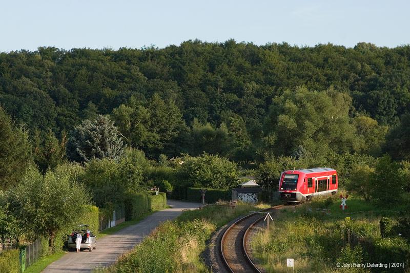 Waltershausen, am Gleisdreieck