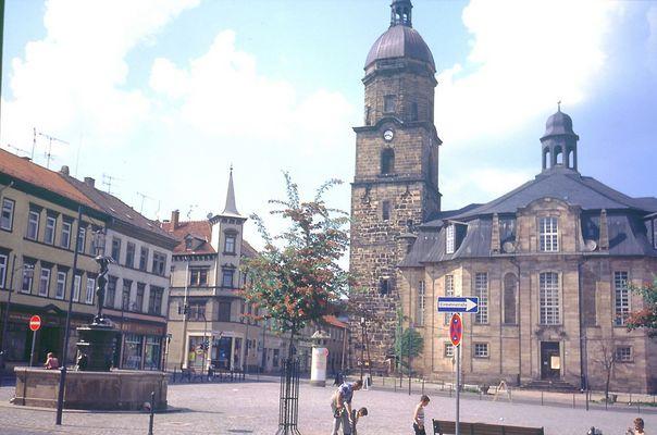 Waltershausen Markt