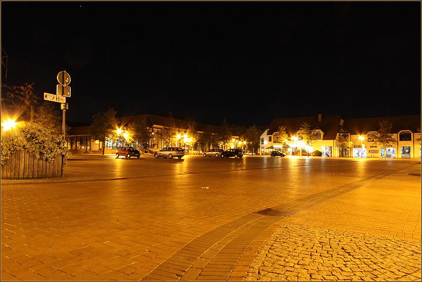 Waltrop bei Nacht ...