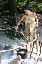 Wampanoag-Indianerin
