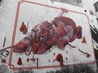 Wand im Gängeviertel in Hamburg