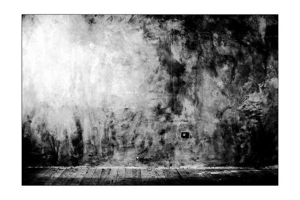 Wand, mit Steckdose