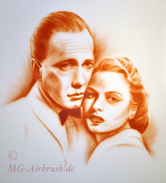 "Wandbild ""Casablanca"""