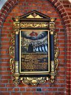 Wandbild in der Nicolaikirche in Lüneburg