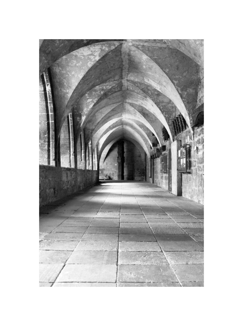 Wandelgang am Halberstädter Dom