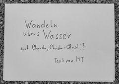 WANDELN uebers WASSER TextAp16