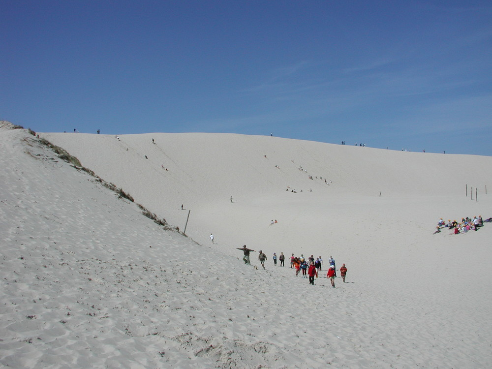 Wanderdüne bei Leba