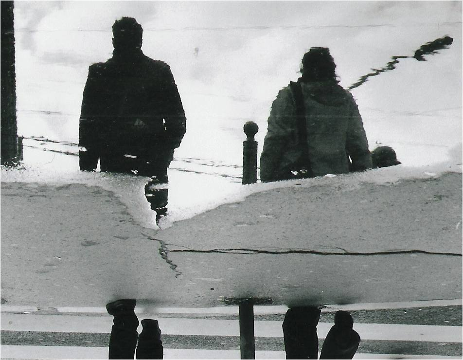 Wanderer above the Smog (Hommage a Caspar David Friedrich)