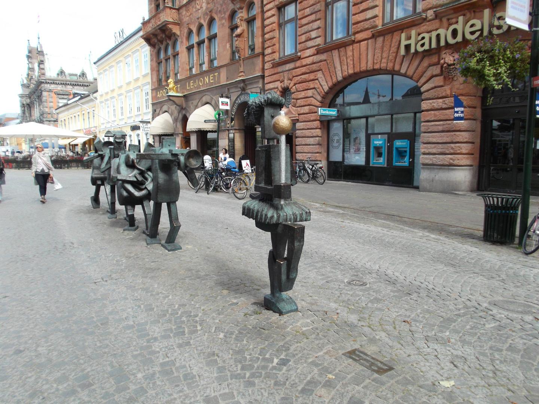 """Wandergruppe"" in Malmö"