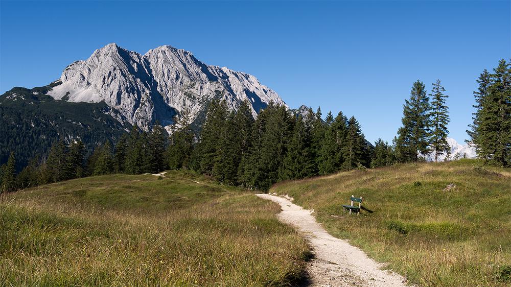 Wandern auf dem Hohen Kranzberg