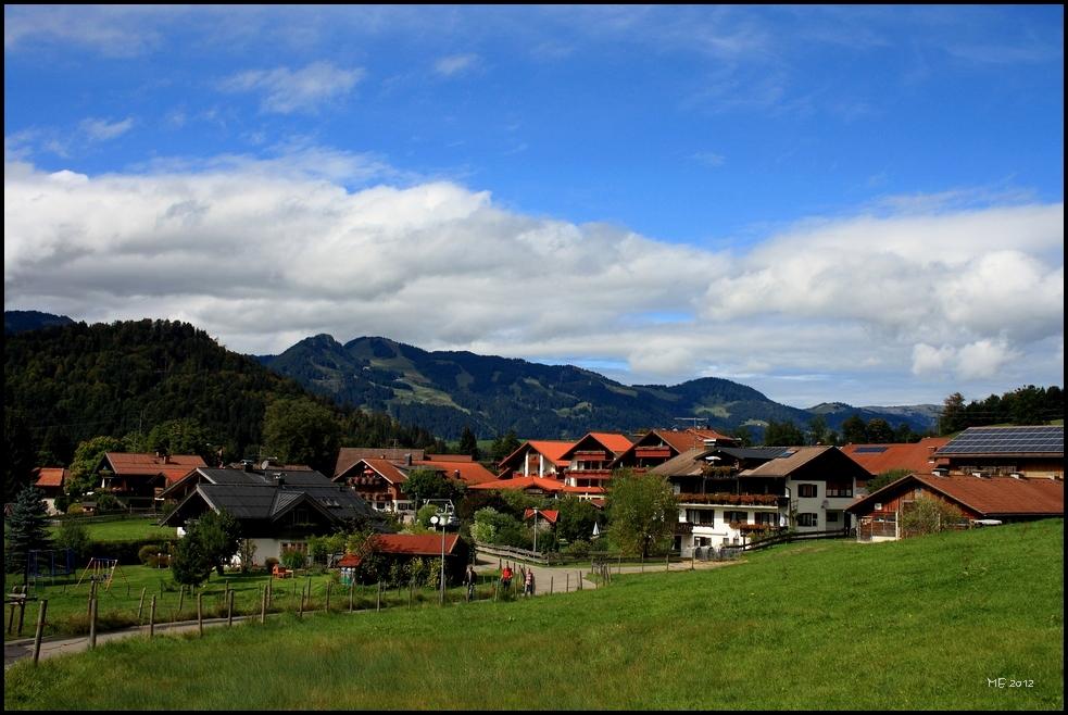 Wandern rund um Oberstdorf..