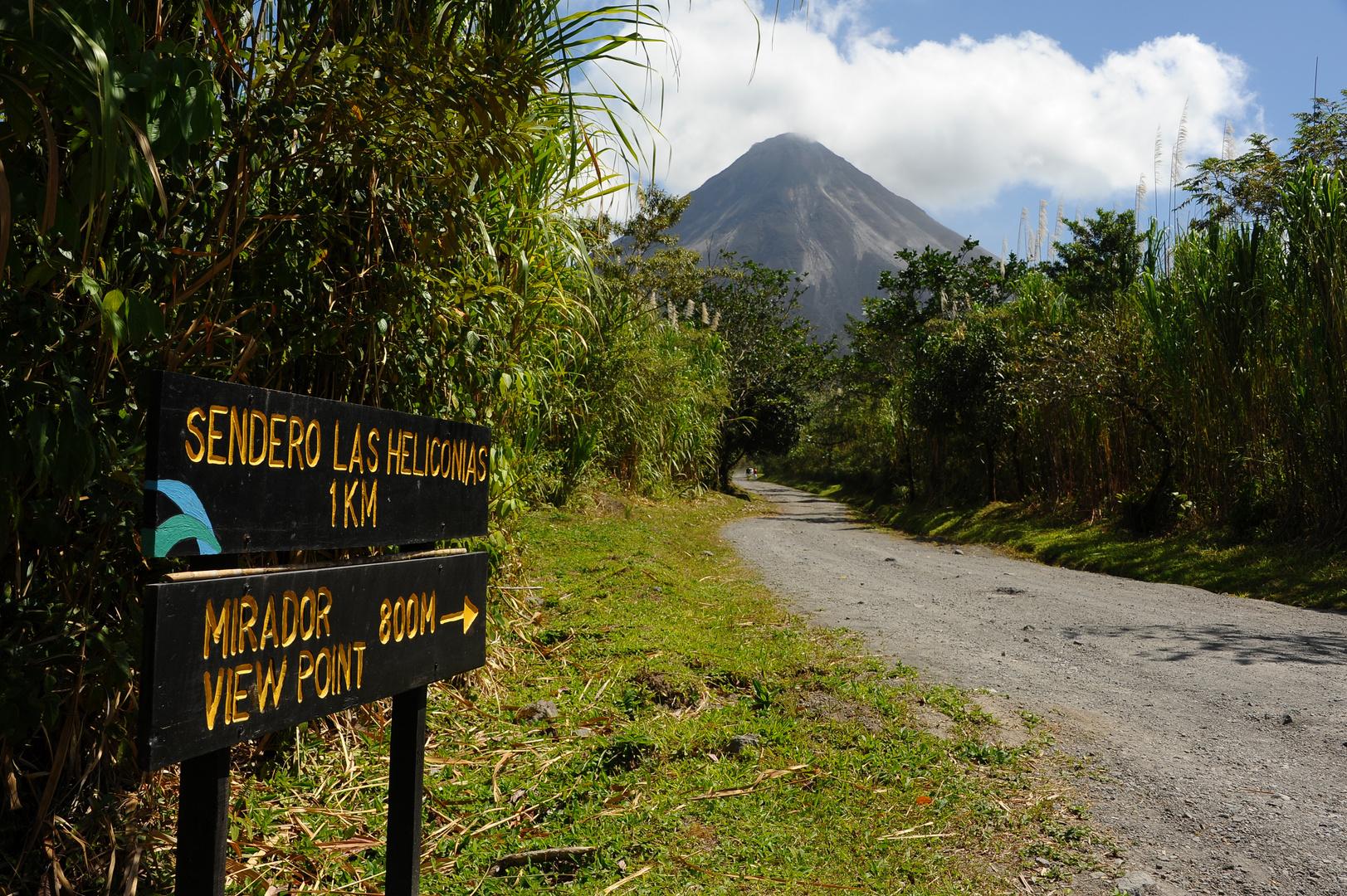 Wanderung beim Vulkan Arenal