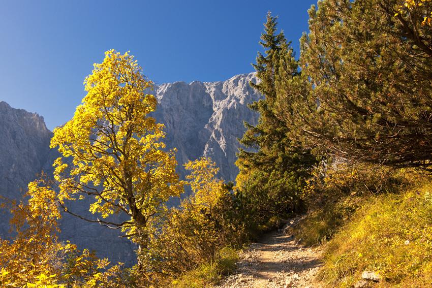 Wanderung im Karwendelgebirge - Enggebiet