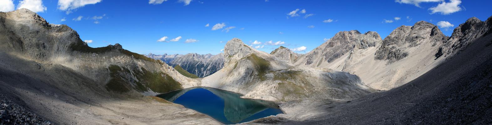 Wanderung im Lechtal Panorama