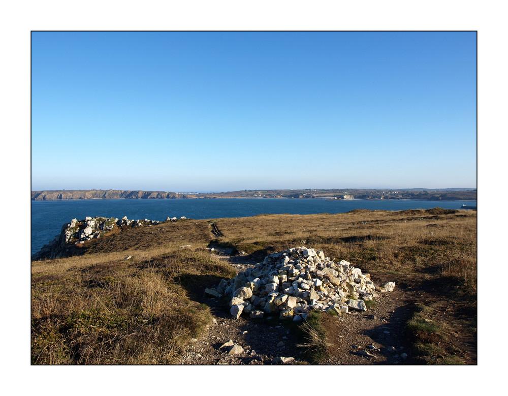 Wanderung in der Nähe von Camaret sur Mer, Pointe du Grand Gouin